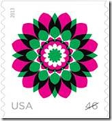 Kaleidoscope Flowers Stamps