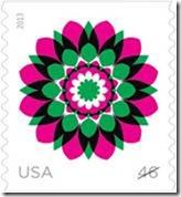 Kaleidoscope Flowers Stamps