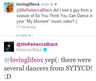 Rebecca Black Twitter